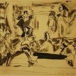 Au Spectacle, America 1915