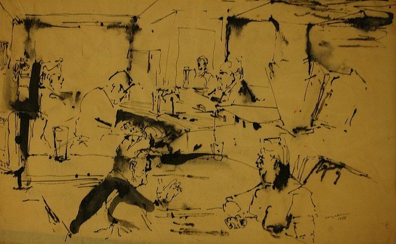 Café Scene, New York