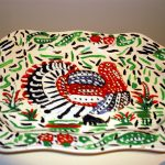 Painted Turkey Platter