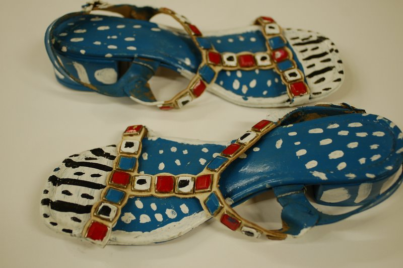 Light Blue Shoes (with painted jewels)