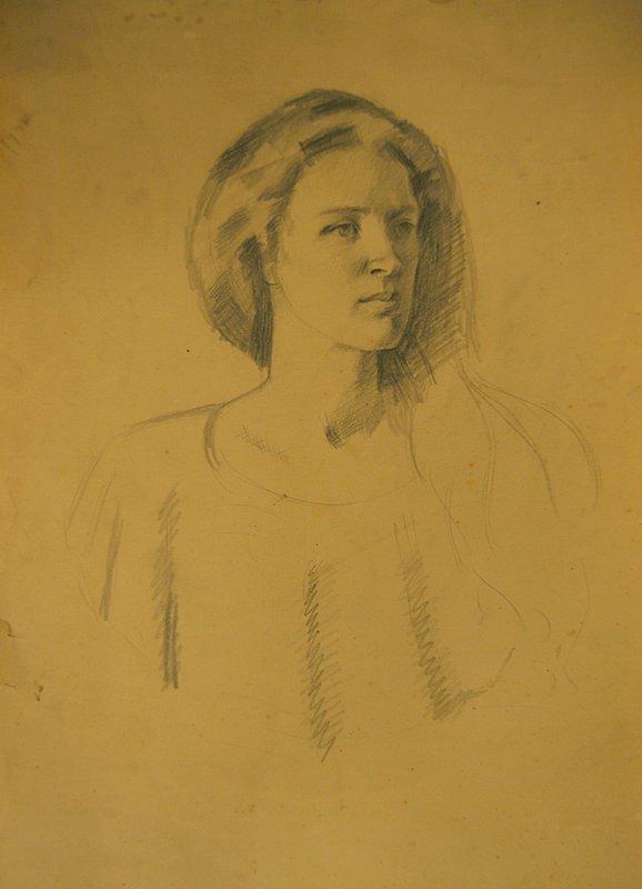 Portrait of Dusti # 5
