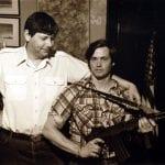Artist George Skypeck, left, and Rusty Lindley, Washington, D.C.