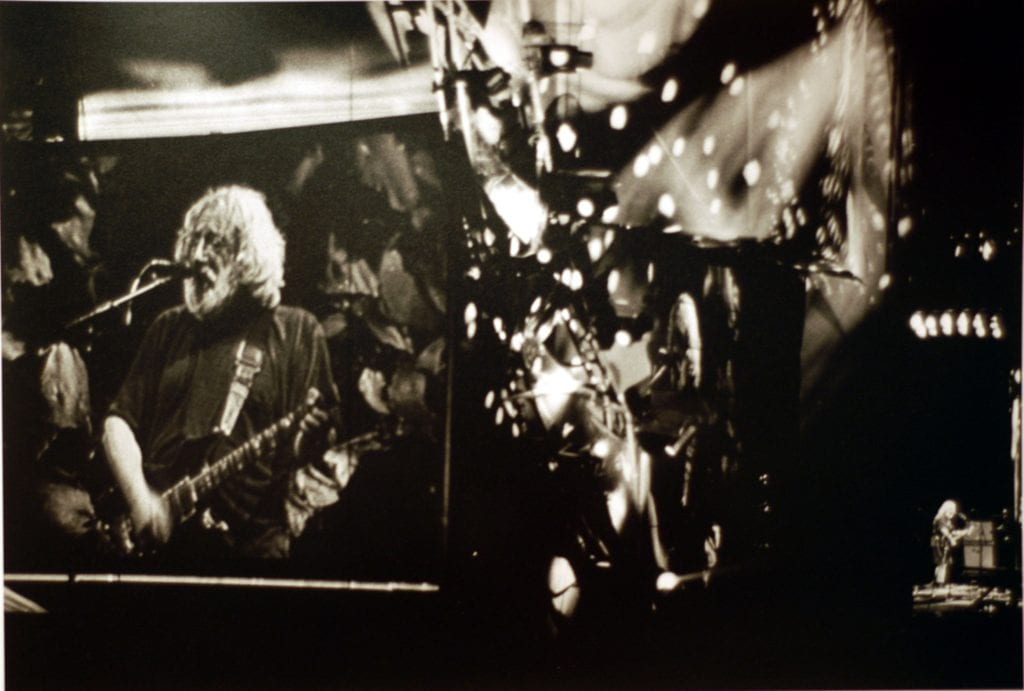 """Black Muddy River."" The first encore at the last Grateful Dead show"