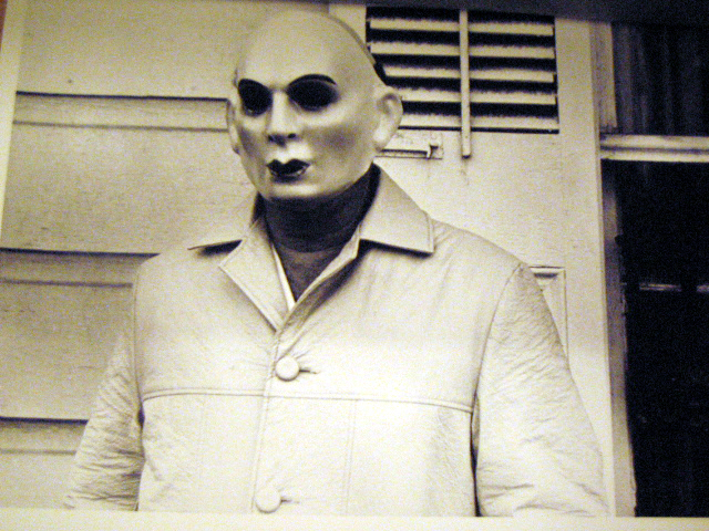 Man in Mask, Mardi Gras