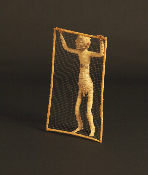 Figure with a Fence