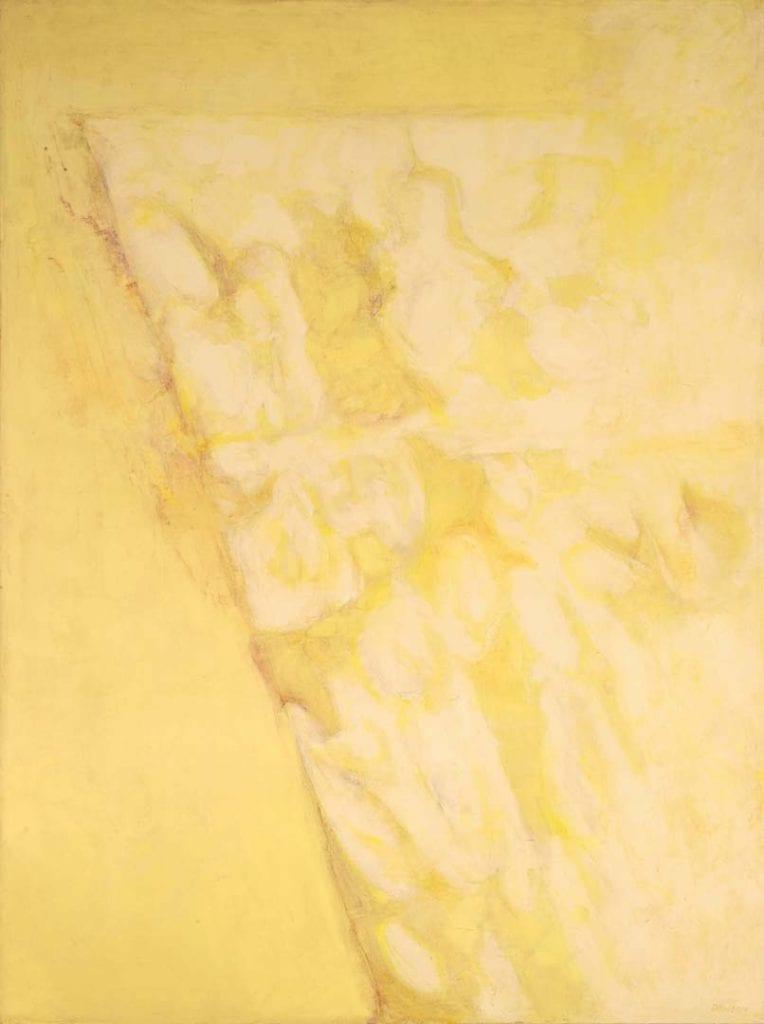 Patterns of Yellow Light #2