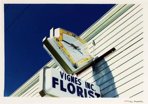 Clock - Vignes Florist