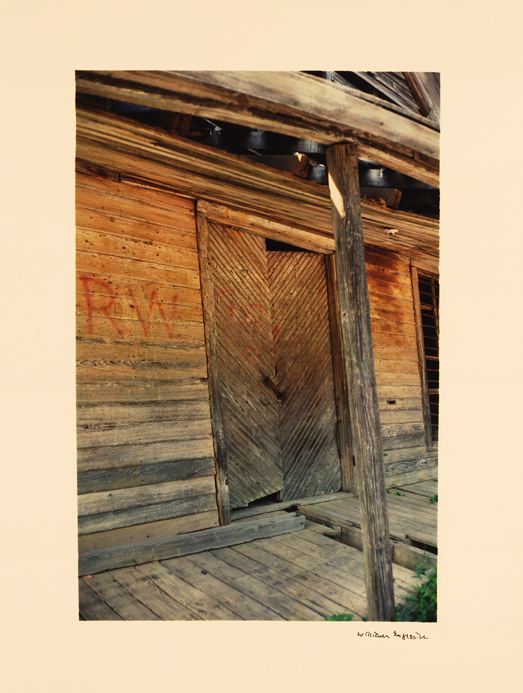 Wooden Building and Porch