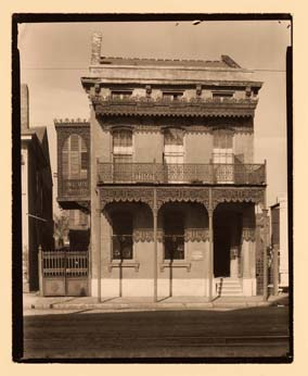 House with Cast Iron Grill Work, New Orleans, LA