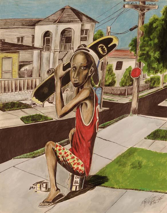 Popeye and His Skateboard
