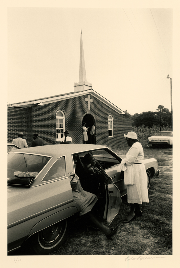 Before Sunday Evening Service, St. Helena Island, SC