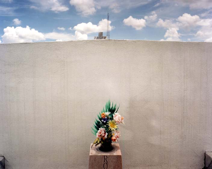 White Wall, Greenwood Cemetery, New Orleans, LA
