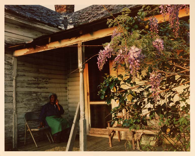Front Porch with Wisteria, Artesia, MS