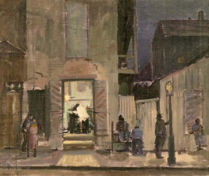 Saturday Night, New Orleans (Dumaine Street)
