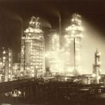 Esso Refinery At Night (Baton Rouge, La)