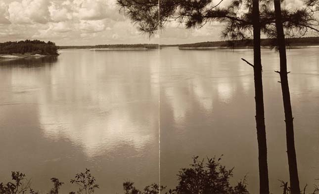 Mississippi River From the Bluffs (Near Port Hudson, La)