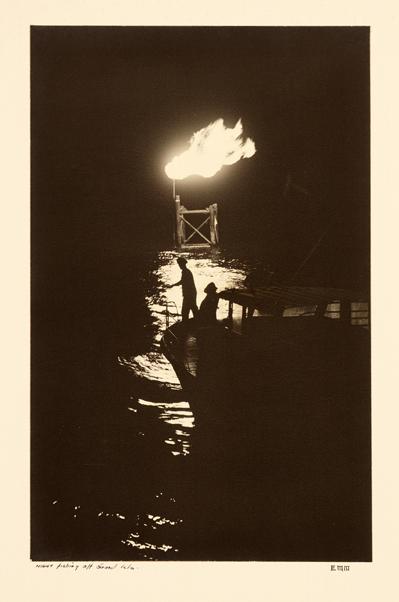 Night Fishing Off Grand Isle, LA