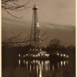 Oil Rig (LSU Lake At Night)
