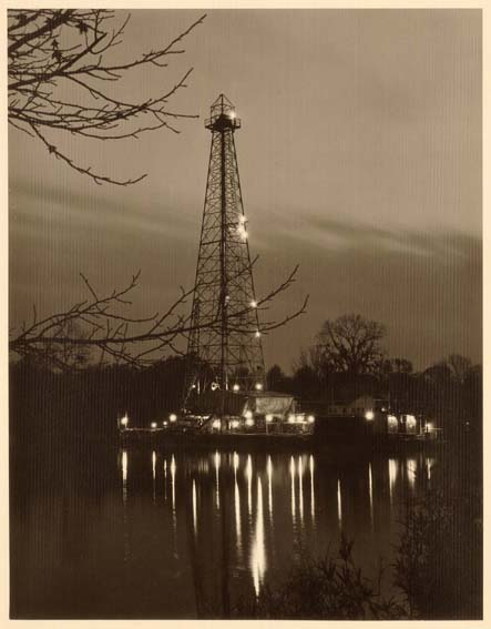Oil Rig (LSU Lake At Night)