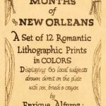 Twelve Months of New Orleans - Title Page