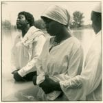 Baptism of Cheronda Brown, Stamps Lake, 1990