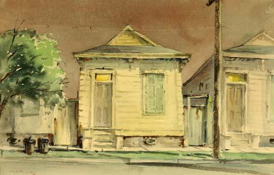 Night Time in the Old Neighborhood