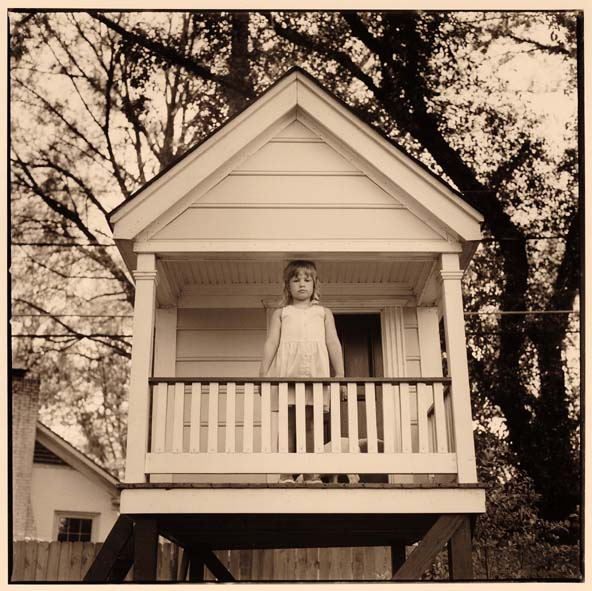 Katherine in the Playhouse Built By Her Father, Monroe, Louisiana
