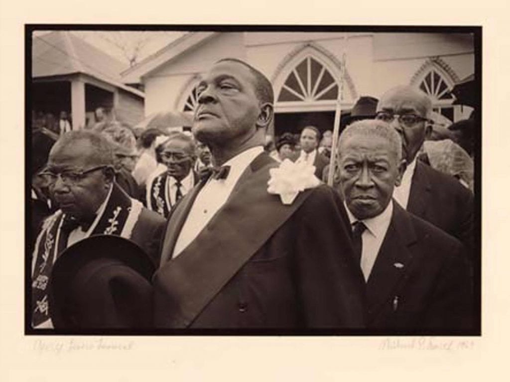 George Lewis Funeral