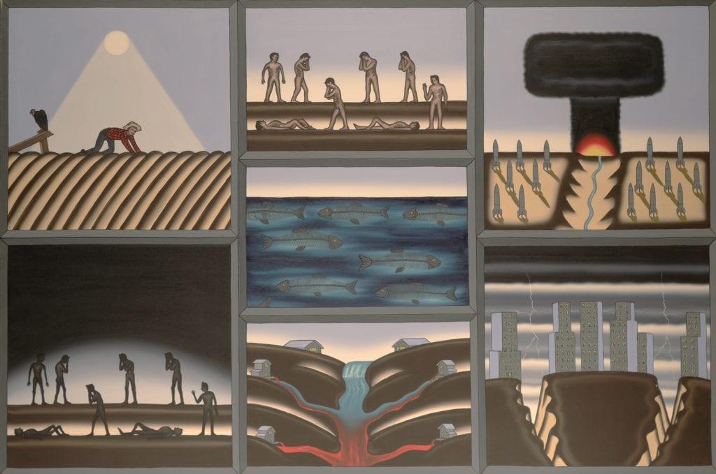The Seven Last Plaques