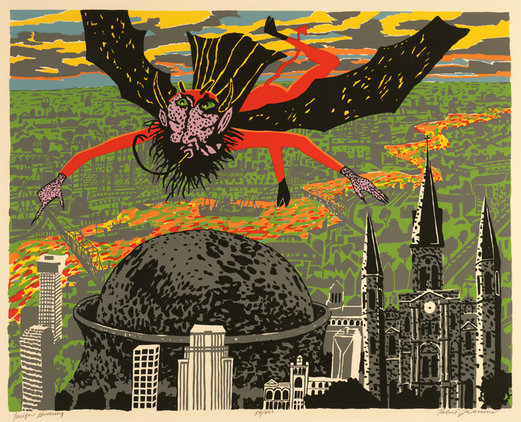 Lucifer Hovering (CAC Print)