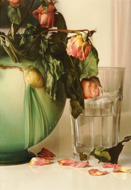 Rose, Green, Indigo