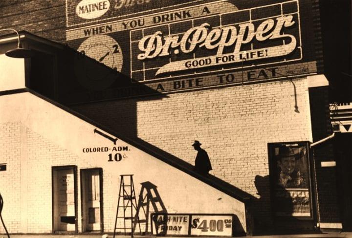 Negro Entering Movie Theatre, Belzoni, MS