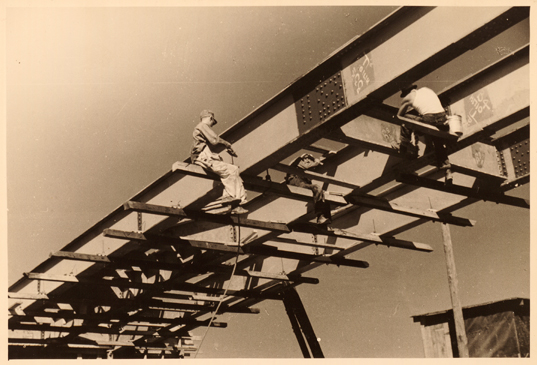 New Bridge Construction, Tygart Valley, West Virginia