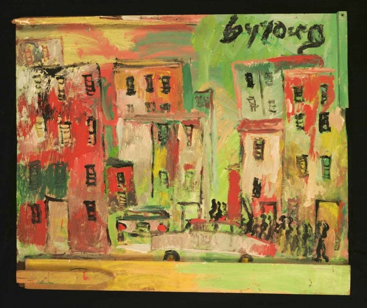 Cityscape with Cars