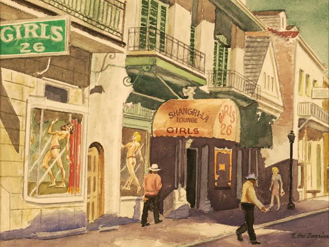Bourbon Street, Shangri-La Lounge