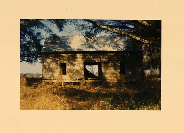 Abandoned House in Field, Near Montgomery, AL