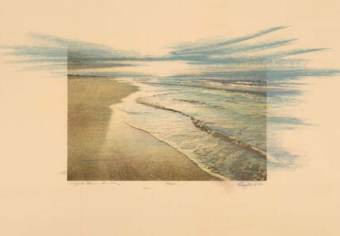 Colorfield Beach - Sunrise (CAC Print)