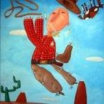 Falling Cowboy