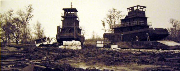 Bayou Shipyard, 1982 Grandbois, LA