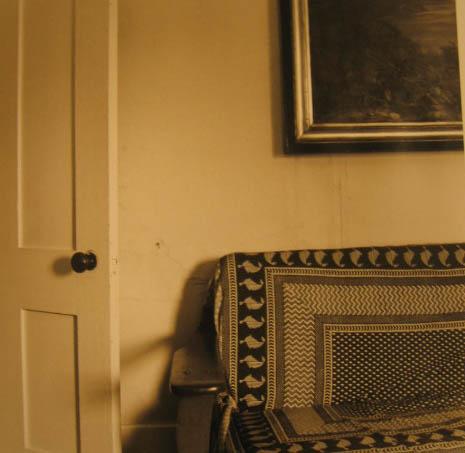 Sofa, Door and Picture