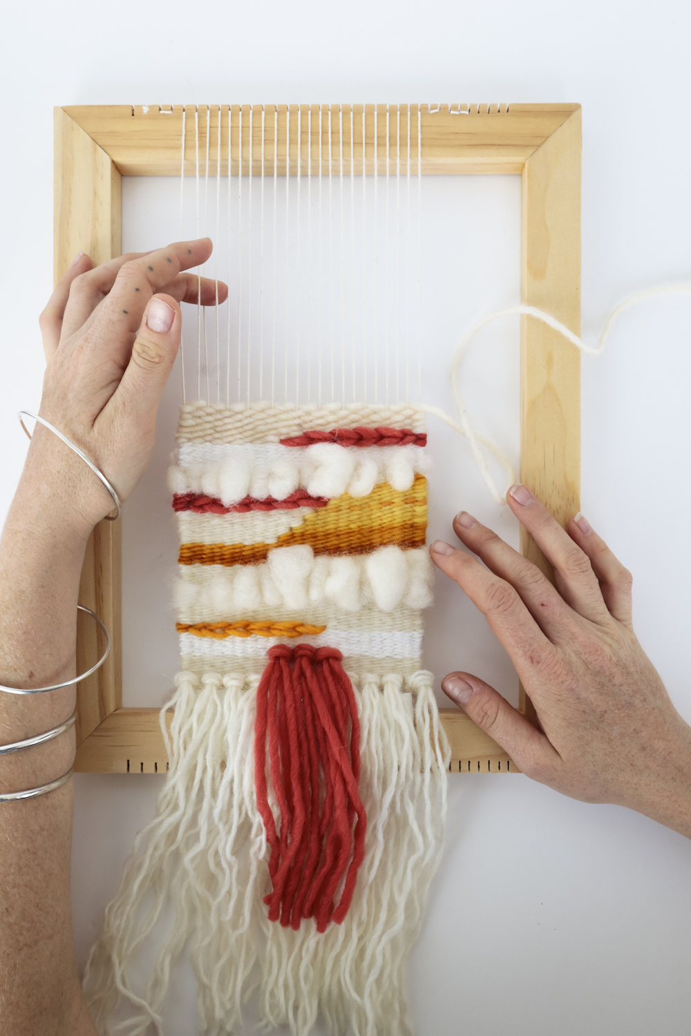 22bffc7b0198ff Artist Workshop  Intro to Tapestry Weaving with Louisiana Contemporary  artist Lena Kolb